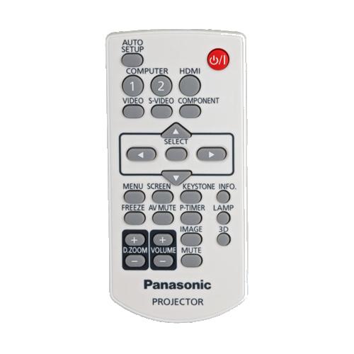 ریموت کنترل ویدئو پروژکتور های قابل حمل پاناسونیک