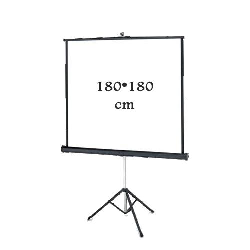 پرده نمایش پایه دار 180-180